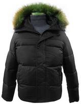 Levi's Men's Fur Trim Hooded Winter Jacket