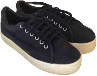 NO.6 STORE Store Navy Cloth Trainers
