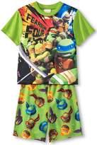 Nickelodeon Teenage Mutant Ninja Turtles Fearsome Four Boys Pajama Set, Kids Size M(7/8)