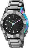 Nixon Women's A2881698 Monarch Stainless Steel Watch with Link Bracelet