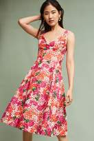 Anthropologie Riona Embroidered Dress