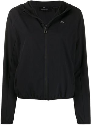 Calvin Klein Zip-Up Logo Hoodie