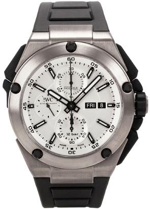 IWC Ingenieur Double Chronograph Titanium Split Second Men's Watch 45MM