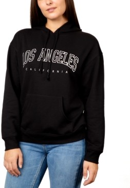 Rebellious One Juniors' Los Angeles Graphic Pullover Hoodie