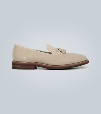 Brunello Cucinelli Exclusive to Mytheresa a tasseled suede moccasins