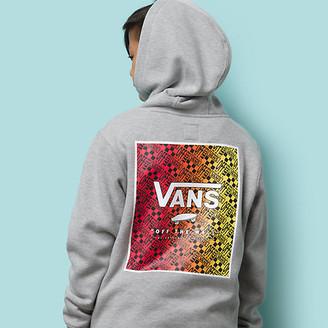 Vans Boys Print Box Back Pullover Hoodie