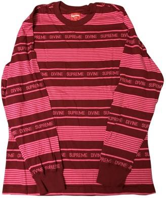 Supreme Pink Cotton Tops