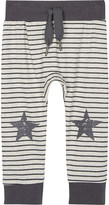 Molo Steel striped cotton tracksuit bottoms 2-24 months