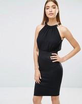 AX Paris Chiffon Top 2 In 1 Pencil Dress