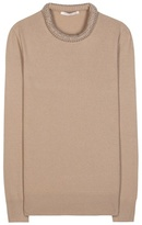 Christopher Kane Embellished Wool-blend Sweater