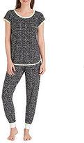 Kensie Zodiac Sign Jersey Pajamas