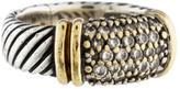 David Yurman Bi-Color Diamond Cable Ring
