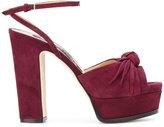 Sergio Rossi platform sandals - women - Leather/Suede/rubber - 36