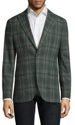 Boglioli Plaid Wool Sportcoat