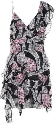Isabel Marant Enta printed silk minidress