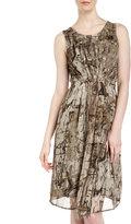 Isda & Co Foundry Print Pleated Dress