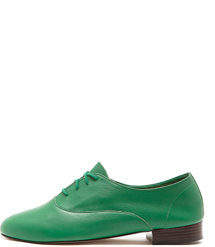 American Apparel Bobby Leather Lace-Up Shoe