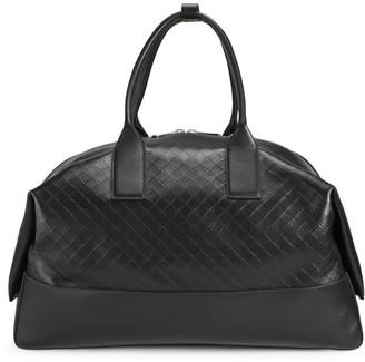 Bottega Veneta Embossed Leather Weekender Bag
