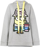 Mira Mikati Tourist Minion Embroidered Hooded Sweatshirt