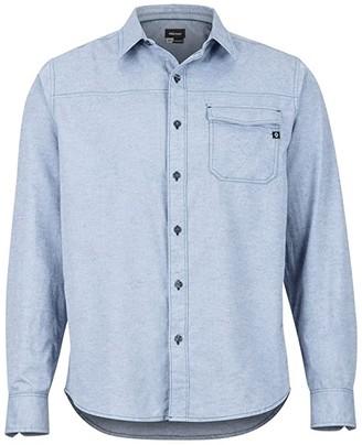 Marmot Tumalo Long Sleeve Shirt (Arctic Navy) Men's Long Sleeve Button Up