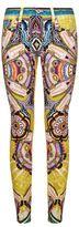 Roberto Cavalli Printed Skinny Jeans