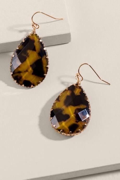0331a2ea0 francesca's Brown Earrings - ShopStyle