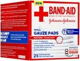 Bandaid First Aid Gauze Pads 2X2 25 ct