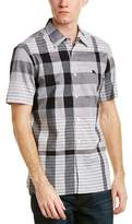 Burberry Check Cotton Short Sleeved Shirt.