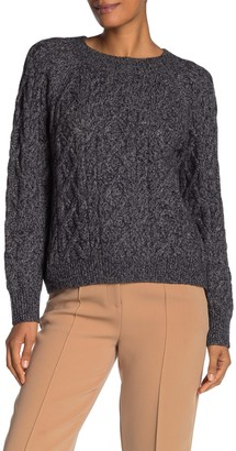 Vince Boatneck Cable Knit Sweater