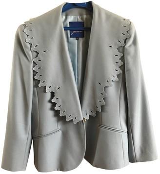 Guy Laroche Blue Wool Jacket for Women