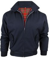MADE IN ENGLAND Men's Classic Mod Retro Harrington Jacket