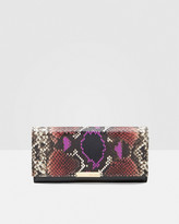 Ted Baker Exotic leather matinee purse
