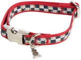 Mackenzie Childs MacKenzie-Childs Small Courtly Check Couture Red Dog Collar