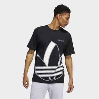 adidas Oversize Shadow Trefoil Tee