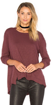 Wilt Slouchy Overlay Shift Long Sleeve Top