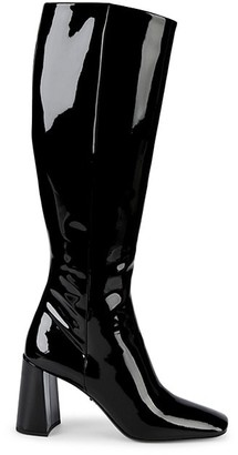Prada Patent Leather Tall Boots
