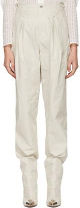 Isabel Marant Off-White Kilandy Trousers