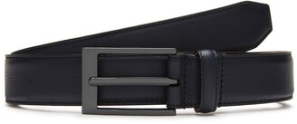 Mulberry 30 mm Formal Belt Midnight Silky Calf