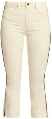 L'Agence Nadia Side-Tape Jeans