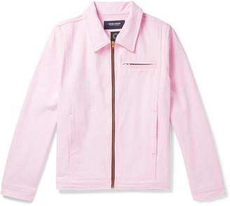 Noon Goons Glasser Oversized Garment-Dyed Denim Jacket - Men - Pink