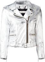 Golden Goose Deluxe Brand 'Chiodo' metallic jacket