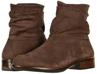 Naot Footwear Brisote (Black Velvet Nubuck) Women's Boots