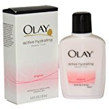 Olay Active Hydrating Beauty Fluid Lotion Original 4 OZ - Buy Packs and SAVE (Pack of 4)