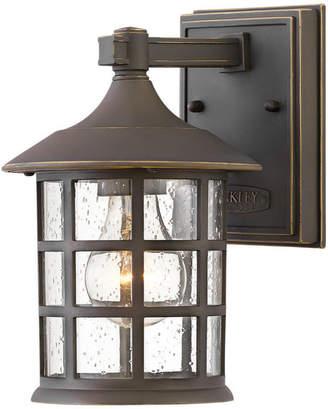 Hinkley Freeport 1-Light Outdoor Wall Mount Lantern, Oil Rubbed Bronze