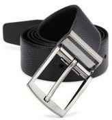 Giorgio Armani Leather Tongue Belt