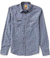 HUGO BOSS BOSS Orange Edoslime Slim-Fit Jacquard Shirt