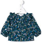 Burberry floral print shirt