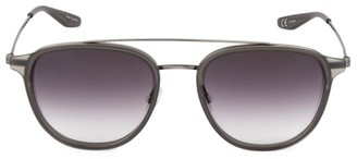 Barton Perreira 55MM Round Courtier Sunglasses
