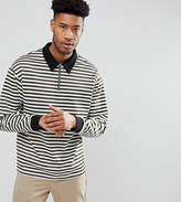 Reclaimed Vintage Inspired TALL Long Sleeve Top In Stripe