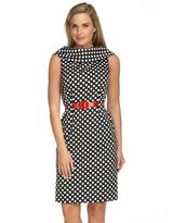 by asl polka-dot dress